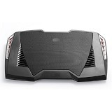 DEEPCOOL Gaming Cooling Pad with Speaker [M6] - Black (Merchant) - Notebook Cooler