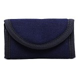 DEER AND DOE Dompet Kunci / Key Pouch - Navy - Gantungan Kunci Pria