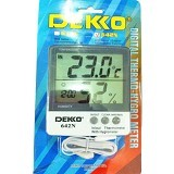 DEKKO Digital Thermo-Hygro Meter [642N] - Alat Ukur Suhu