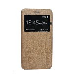 DELKIN Flip Cover Samsung Note 5 - Gold (Merchant) - Casing Handphone / Case