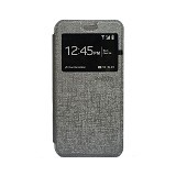 DELKIN Flip Cover Samsung S7 edge - Grey (Merchant) - Casing Handphone / Case
