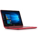 DELL Inspiron 11 3168 (Pentium N3710) - Red - Notebook / Laptop Hybrid Intel Quad Core