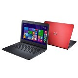 DELL Inspiron 5447 (Core i3-4030U) - Red - Notebook / Laptop Consumer Intel Core I3