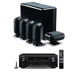 DENON Audio Video Receiver AVR-X1200W + Q Accoustic 7000 - Black (Merchant) - Audio / Video Receivers