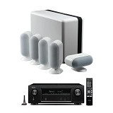 DENON Audio Video Receiver AVR-X1200W + Q Accoustic 7000 - White (Merchant) - Audio / Video Receivers
