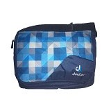 DEUTER Attend [85043-3016-0] - Blue Arrow Check - Cross-body Bag Wanita