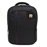 SAN PAOLO Tas Ransel Impor [1686] - Black (Merchant) - Notebook Backpack