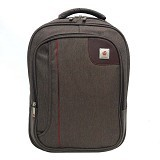 SAN PAOLO Tas Ransel Impor [1686] - Brown (Merchant) - Notebook Backpack