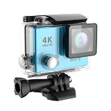 DIKLIKAJA Action Camera 4K Single Screen [DKA-ACAM-1LCD-BLE] - Blue (Merchant) - Camcorder / Handycam Flash Memory