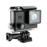DIKLIKAJA Action Camera 4K Single Screen [DKA-ACAM-1LCD-BLK] - Black (Merchant) - Camcorder / Handycam Flash Memory