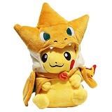 DKB SHOP Boneka Pikachu Charizard Angry (Merchant) - Boneka Karakter / Fashion