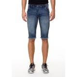 DOCDENIM Men Dayton Short Slim Fit Size 36 - Blue (Merchant) - Celana Pendek Pria