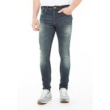 DOCDENIM Men Jeans Alcatraz Super Slim Fit Size 29 - Blue (Merchant) - Celana Jeans Pria