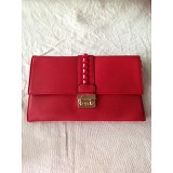 DQUEEN Clutch 3021 - Red - Clutches & Wristlets Wanita