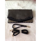 DQUEEN Clutch 8019 - Black - Clutches & Wristlets Wanita