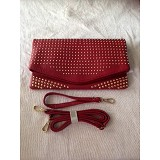 DQUEEN Clutch 8019 - Red - Clutches & Wristlets Wanita
