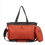 DREAM BABY Diaper Bag Sant Anna [MM012] - Orange (Merchant) - Diapers Bag / Tas Popok