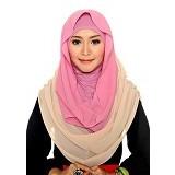 DSTYLEHIJAB 2 Tone Shoodie - Pink 2 - Hijab