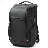 DTBG Laptop Bag With USB Port 17.3 Inch [D8195W] - Black (Merchant) - Notebook Backpack