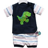 BABY WAREHOUSE Dubeedu Baby Set Dino - Dark Blue