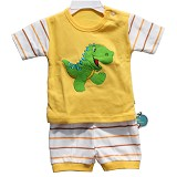 BABY WAREHOUSE Dubeedu Baby Set Dino - Yellow