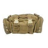 DUCITLET SHOP Tas Tactical / Tas Slempang Army - Coklat - Sling-Bag Pria