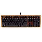 DUCKY One Fullsize LED Cherry Mx Blue Switch [DKON1508S-CUSADATW1] - Transparant Orange (Merchant) - Gaming Keyboard