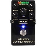 DUNLOP Guitar Effect MXR Studio Compressor [M-76] - Gitar Stompbox Effect