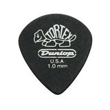 DUNLOP Pick Gitar Tortex Pitch Black Jazz III 1.00 mm - Gitar Pick