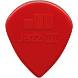 DUNLOP Pick Jazz III - Red - Gitar Pick