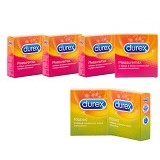 DUREX Pleasuremax 4 pcs (Merchant) - Kb dan Alat Kontrasepsi
