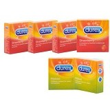 DUREX Strawberry 4 pcs (Merchant) - Kb dan Alat Kontrasepsi