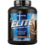 DYMATIZE NUTRITION Elite Whey Protein Isolate 10 lbs - Chocolate - Suplement Peningkat Metabolisme Tubuh