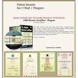 Design Originals Paket Desain Sertifikat Piagam (Merchant) - Software Illustration / Design Licensing