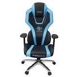 E-BLUE Auroza Gaming Chair - Blue (Merchant) - Gaming Organizer