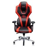 E-BLUE Auroza Lighting Gaming Chair - Red (Merchant) - Kursi Kantor