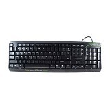 E-BLUE Pledge Keyboard USB (Merchant) - Keyboard Desktop
