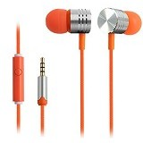 EARFUN Earphone Fashionable Colorful [EF-E4] - Orange - Earphone Ear Monitor / Iem