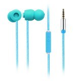 EARFUN Earphone Fashionable Colorful [EF-E5] - Blue - Earphone Ear Monitor / Iem