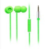 EARFUN Earphone Fashionable Colorful [EF-E5] - Green - Earphone Ear Monitor / Iem