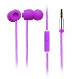 EARFUN Earphone Fashionable Colorful [EF-E5] - Purple - Earphone Ear Monitor / Iem