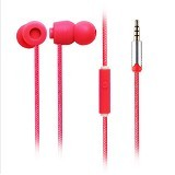EARFUN Earphone Fashionable Colorful [EF-E5] - Red - Earphone Ear Monitor / Iem