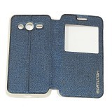 EASYBEAR Flipcover Case View for Samsung Galaxy Core 2 G355 - Dark Blue (Merchant) - Casing Handphone / Case