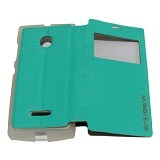 EASYBEAR Flipcover/Flipshell/Casing for Microsoft Lumia N435 View - Tosca (Merchant) - Casing Handphone / Case