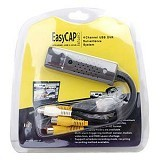 EASYCAP USB To Av RCA Easy Capture USB 2.0 Dvr Easy Cap Dvr 4 Channel (Merchant) - Cable / Connector Hdmi
