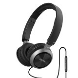EDIFIER Headphone M710 with Mic & Volume Control [EDI-HEAD-M710-BK] - Black (Merchant) - Headphone Portable