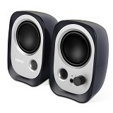 EDIFIER Multimedia Speakers [R12U] - Black (Merchant) - Speaker Computer Basic 2.0