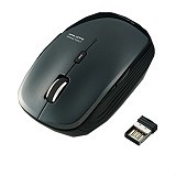 ELECOM Wireless Mouse Sensor Blue LED 5M [M-BL21DBBK] -  Black (Merchant) - Mouse Mobile