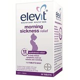 ELEVIT Morning Sickness Relief - 30 Tablets - Suplemen Kewanitaan