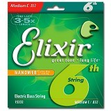 ELIXIR STRINGS Bass NANOWEB Coating [15332] - Senar Gitar